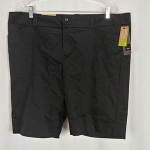 Mossimo Women's Shorts Black Size 18